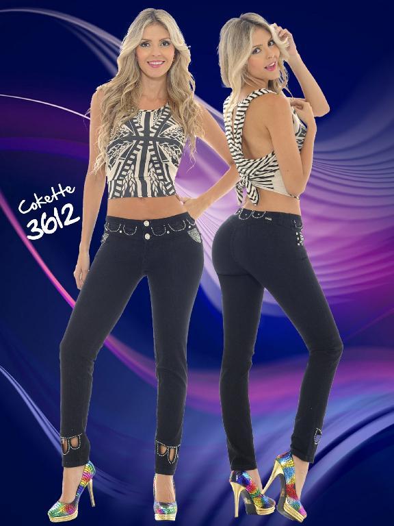 Colombian Jeans Cokette - Ref. 119 -3612
