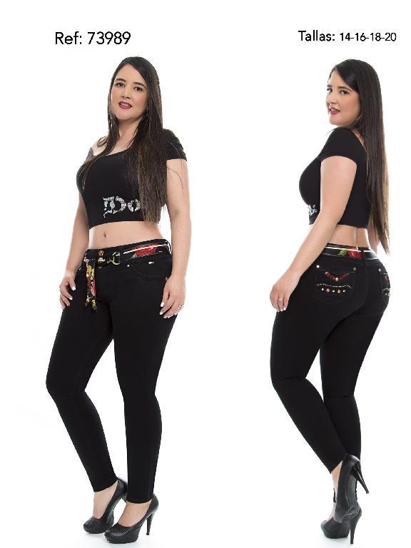 Jeans Levantacola Colombiano Do Plus Size