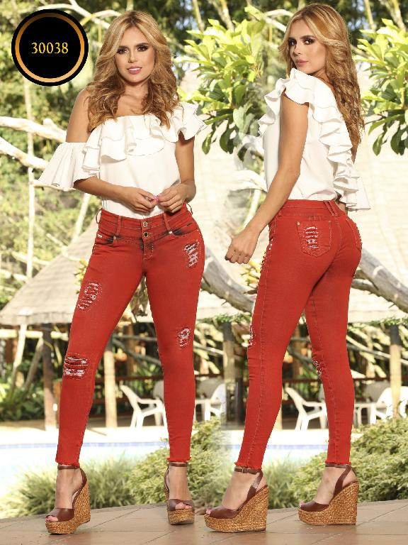 Jeans LevantaCola Colombiano Thaxx  Essentials - Ref. 119 -30038 TE