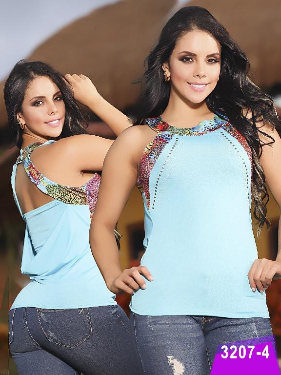 Blusa Moda Thaxx - Ref. 119 -32074