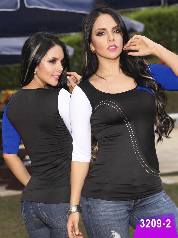 Blusa Moda Thaxx - Ref. 119 -32092