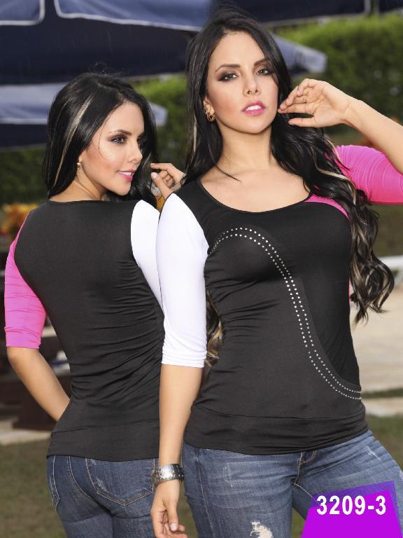 Blusa Moda Thaxx - Ref. 119 -32093