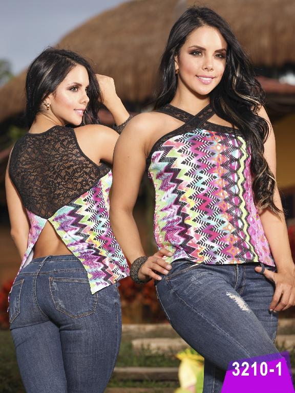 Blusa Moda Thaxx - Ref. 119 -32101