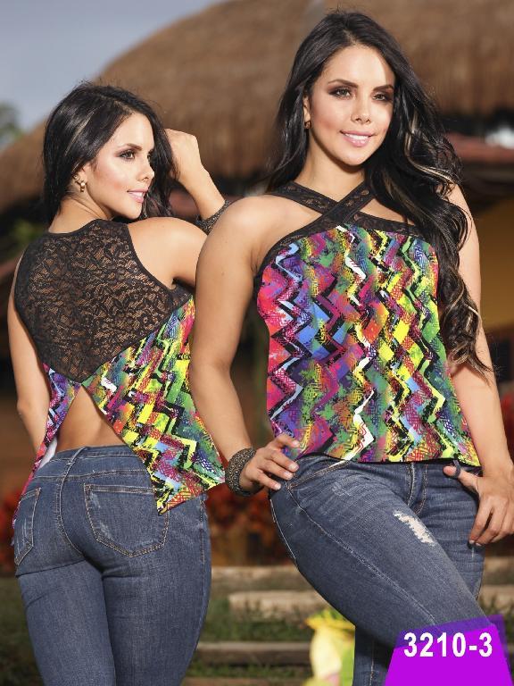 Blusa Moda Thaxx - Ref. 119 -32103