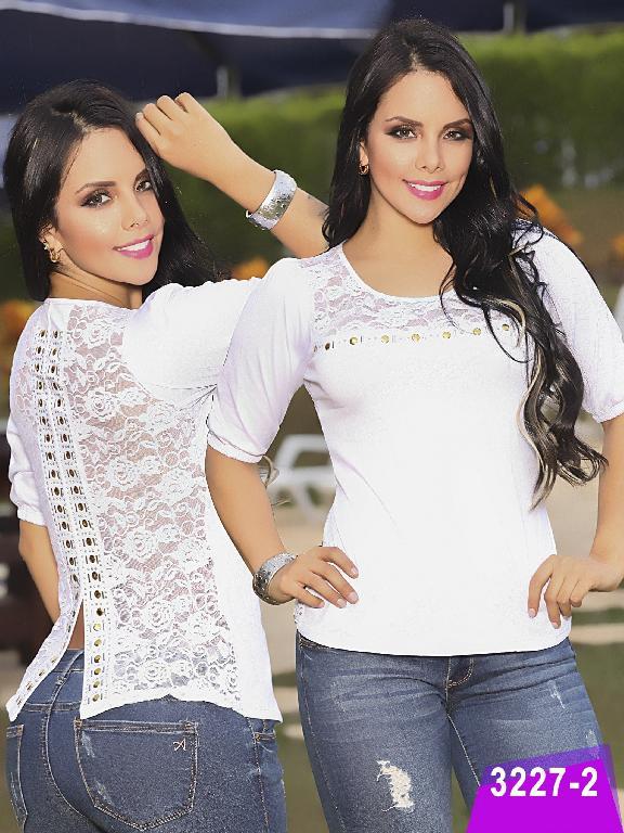 Blusa Moda Thaxx  - Ref. 119 -3227-2