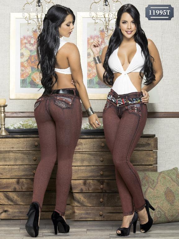 Jeans Levantacola Colombiano Tabbachi  - Ref. 101 -11995 T