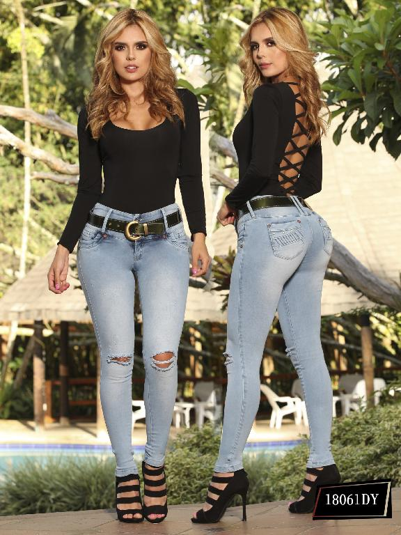 Jeans Levantacola Colombiano Dinasty - Ref. 249 -18061 DY