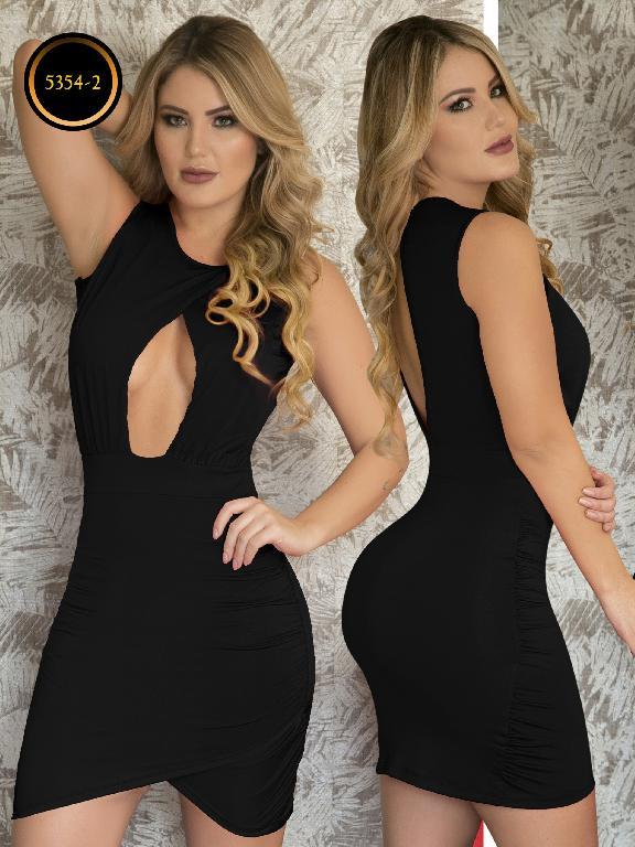 Vestido Moda  Colombiana Thaxx - Ref. 119 -5354-2 Negro