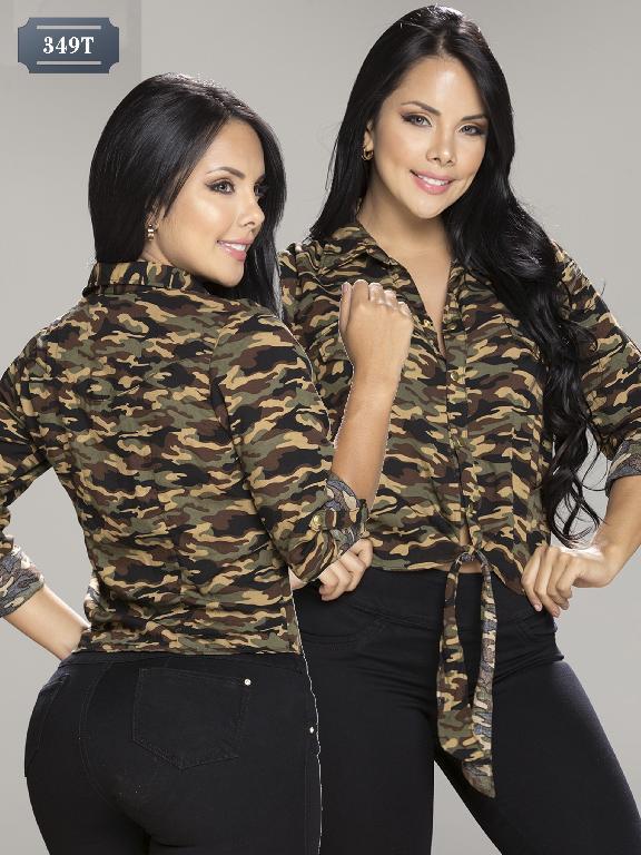 Colombian Blouse Tabbachi Fashion - Ref. 236 -349 T