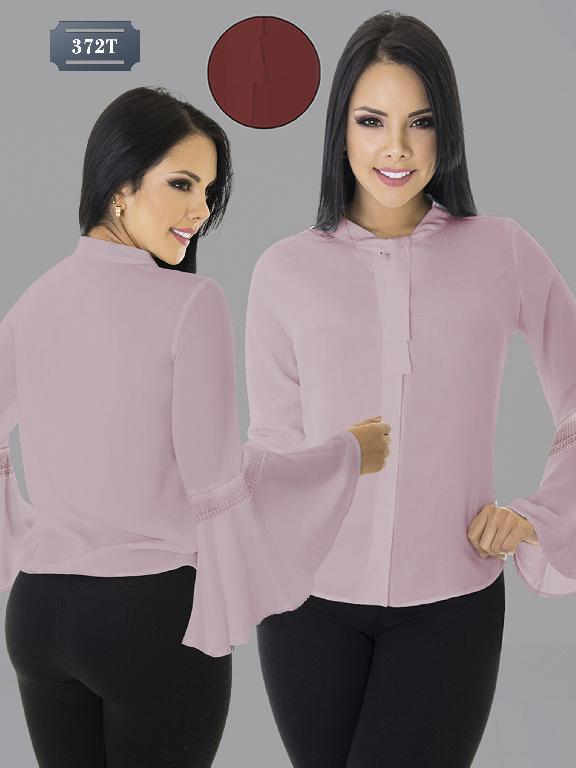 Colombian Blouse Tabbachi Fashion - Ref. 236 -372-3 T - Rojo