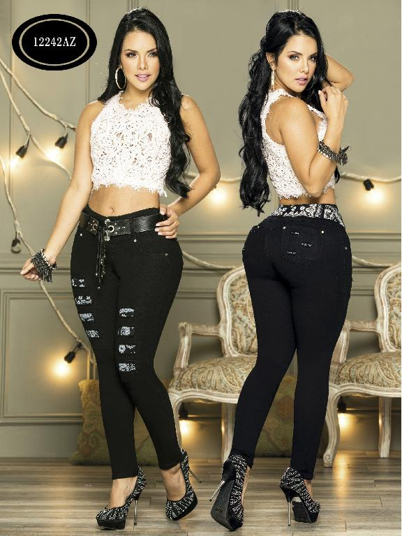 Colombian Jeans Butt Liftin Azulle - Ref. 232 -12242 AZ