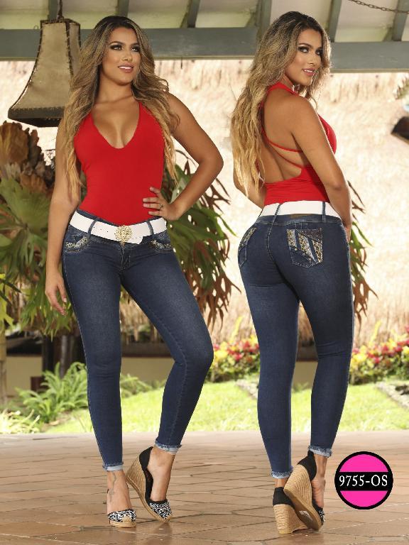 Jeans Levantacola Colombiano Osheas  - Ref. 103 -9755 OS