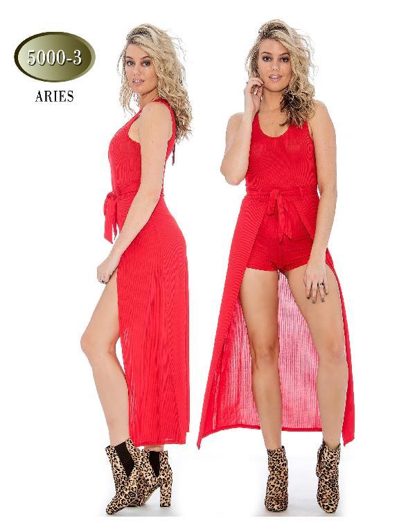 Enterizo Moda Aries-36 Rojo - Ref. 200 -5000- 3 Rojo