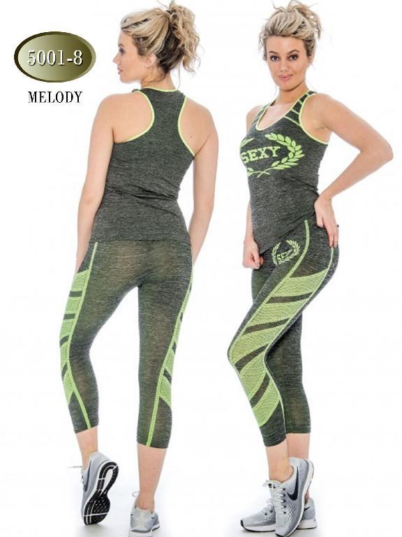 Moda Deportiva Melody  Verde - Ref. 200 -5001- 8 Verde