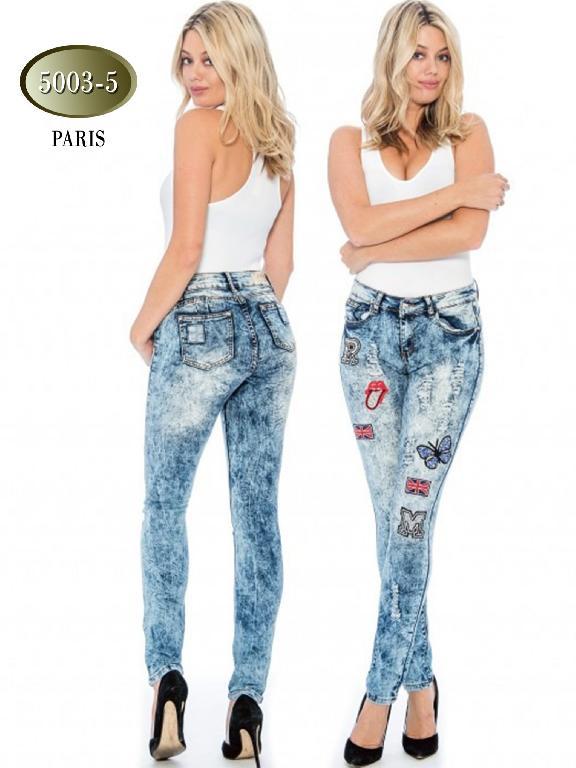 Jeans Levantacola Paris Azul  - Ref. 200 -5003-5 Azul