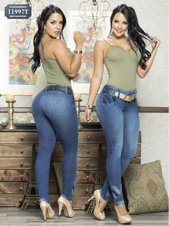 Colombian Jeans Butt Lifting Tabbachi - Ref. 101 -11997 T