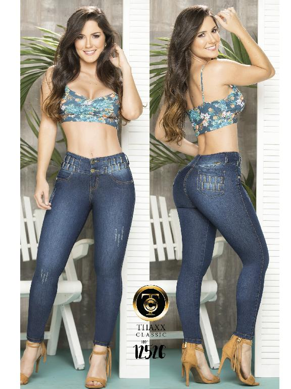 Jeans LevantaCola Colombiano Thaxx Classic - Ref. 119 -12526TC
