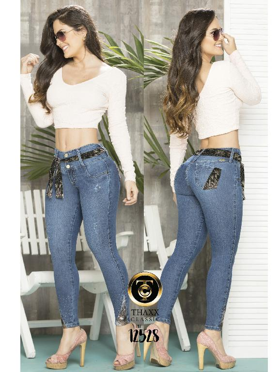 Jeans LevantaCola Colombiano Thaxx Classic - Ref. 119 -12528TC