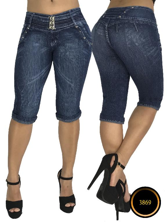 Fashion Women Jeans - Ref. 101 -3869