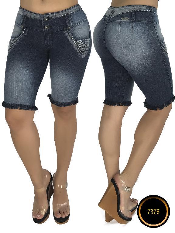Jeans Dama Levantacola Colombiano - Ref. 102 -7378