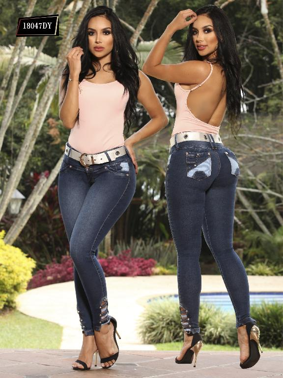 Jeans Levantacola Colombiano Dinasty - Ref. 249 -18047 DY