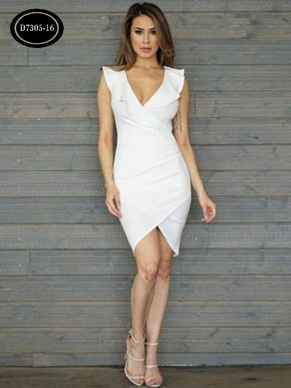 Vestido Moda Azulle Fashion  - Ref. 256 -D7305-16 Beige