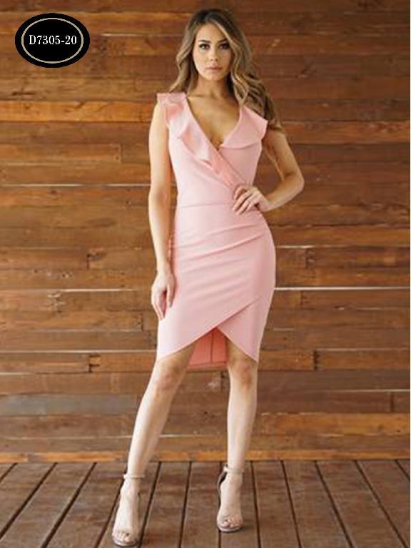Vestido Moda Azulle Fashion  - Ref. 256 -D7305-20