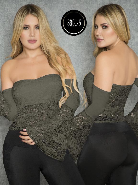 Blusa Moda Colombiana Thaxx  - Ref. 119 -3361-5