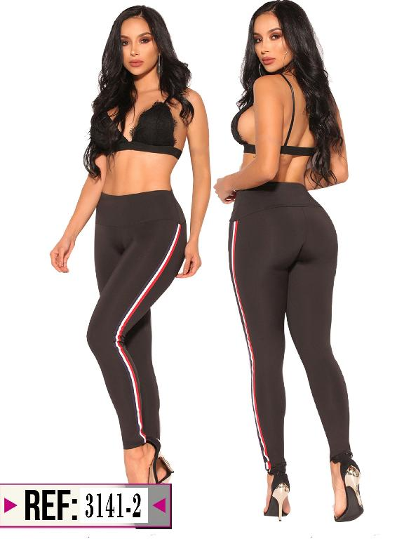 Leggins Levantacola Colombiano Cereza - Ref. 111 -3141-2