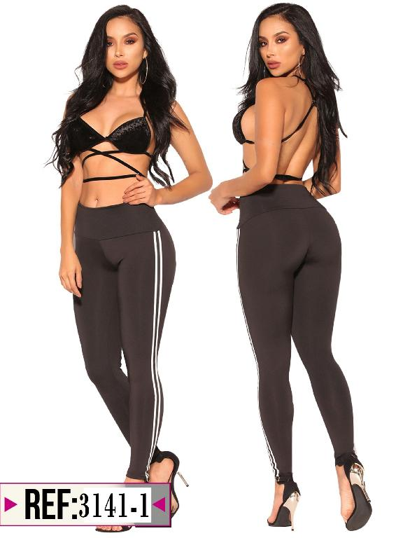 Leggins Levantacola Colombiano Cereza - Ref. 111 -3141-1