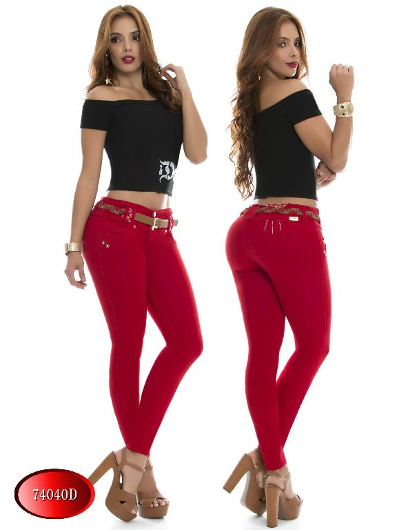 Jeans Levantacola Colombiano DO - Ref. 248 -74040 D