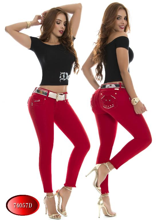Jeans Levantacola Colombiano DO - Ref. 248 -74057 D