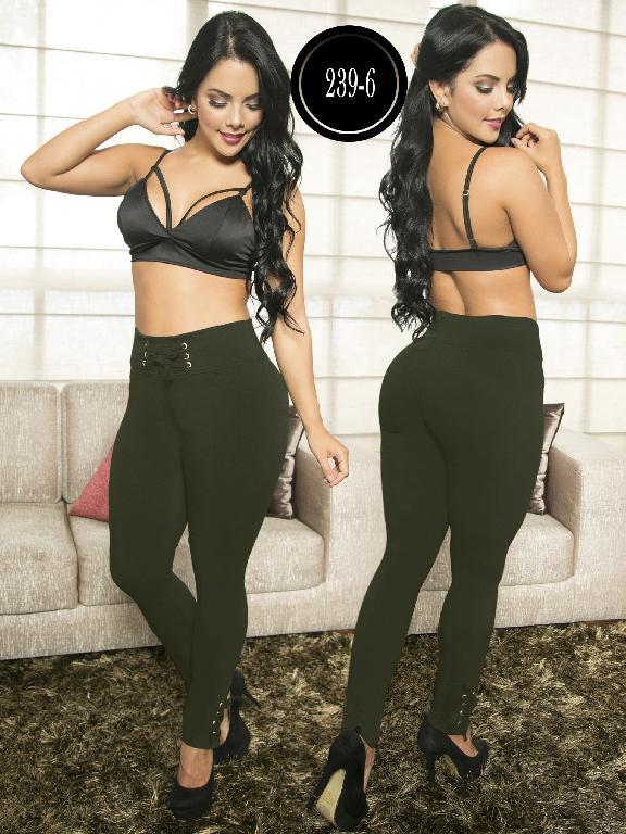 Pantalon Casual Confort Thaxx - Ref. 119 -239-6 Verde