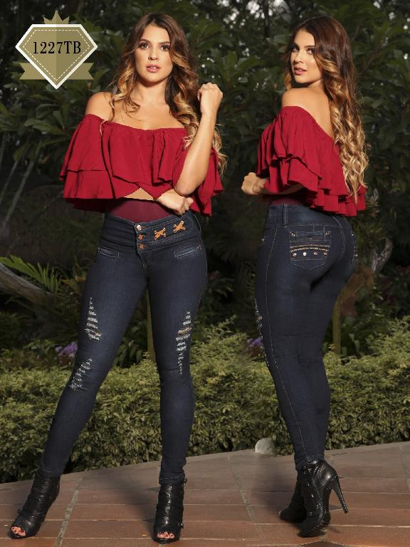 Jeans Levantacola Colombiano Thaxx Boutique - Ref. 119 -1227 TB