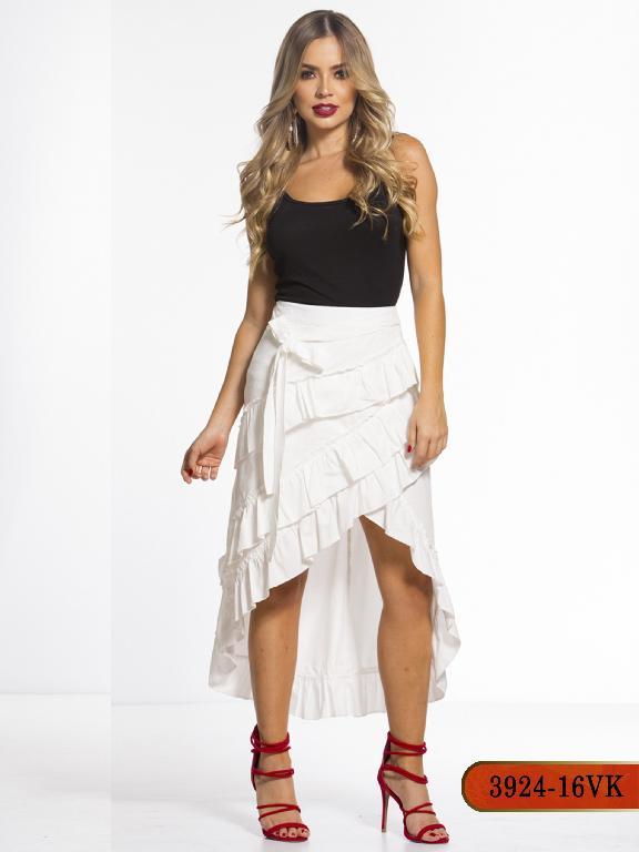 Falda Moda Colombiana Vikats - Ref. 252 -3924-16 VK-Beige