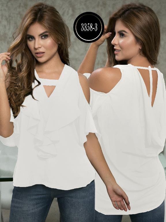 Blusa Moda Colombiana Thaxx  - Ref. 119 -3358-3 Blamco