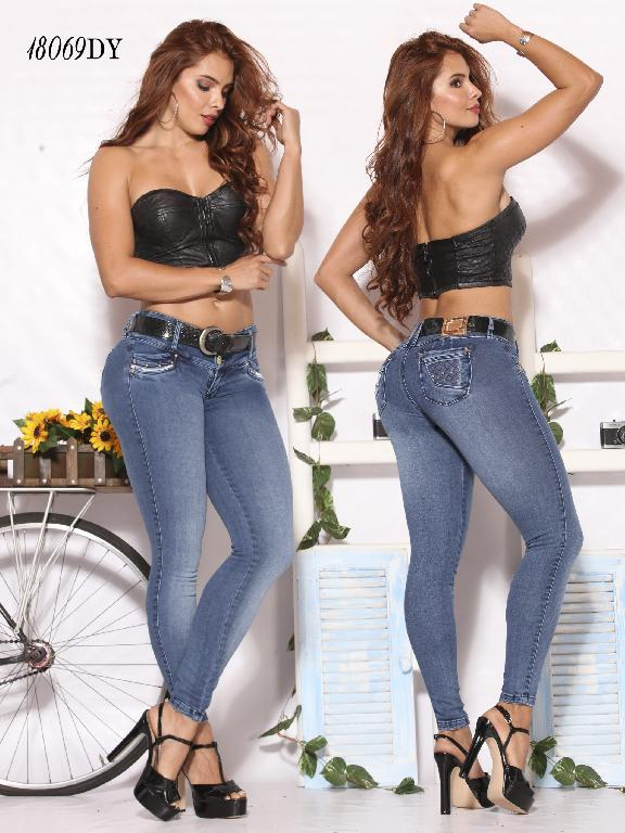 Jeans Levantacola Colombiano Dinasty - Ref. 249 -18069-DY