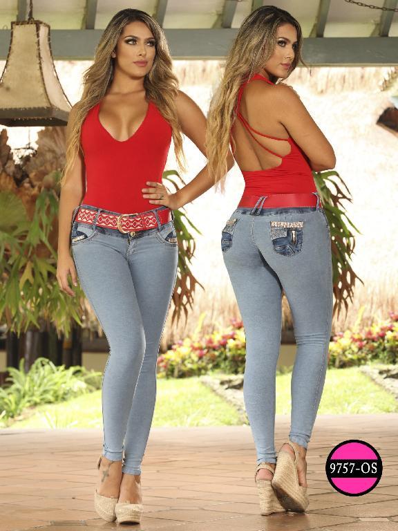 Jeans Levantacola Colombiano Osheas  - Ref. 103 -9757 OS