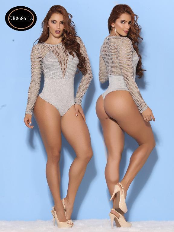 Body Moda Azulle Fashion  - Ref. 256 -GR3686-13 Gris