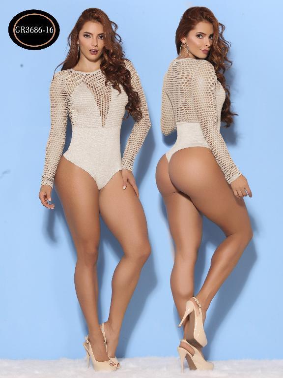 Body Moda Azulle Fashion  - Ref. 256 -GR3686-16 Beige