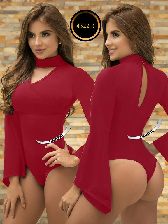 Body Reductor Colombiano Capellini - Ref. 114 -4322-3 Rojo