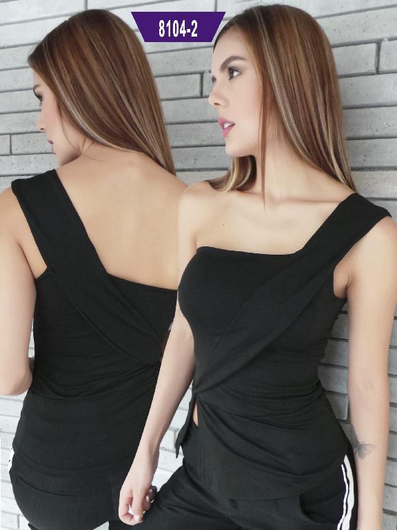 Blusa Moda Colombiana Stafull - Ref. 247 -8104-2 ST Negro