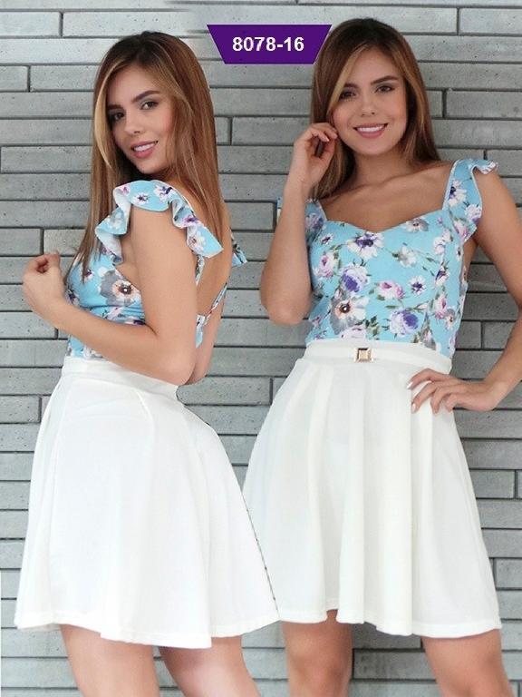 Vestido Moda Colombiana Stafull - Ref. 247 -8078-16 ST Beige