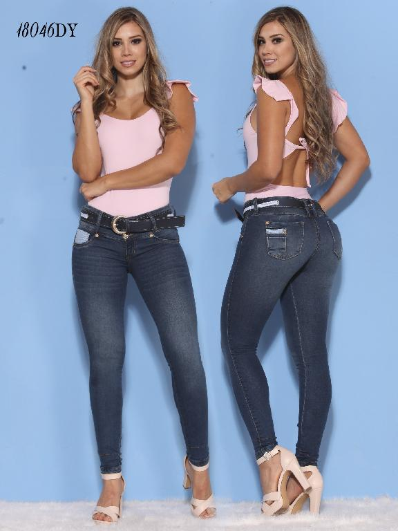 Jeans Levantacola Colombiano Dinasty - Ref. 249 -18046-DY