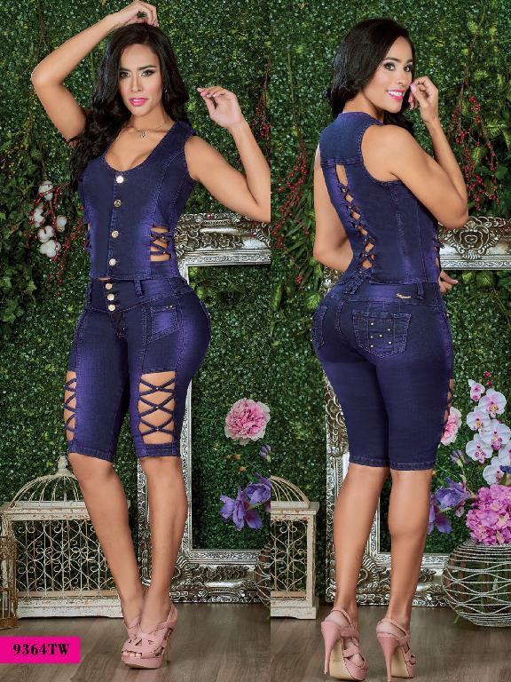 Conjunto Torero Levantacola Colombiano Top Women  - Ref. 123 -9364-TW