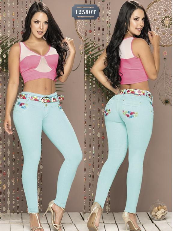 Jeans Levantacola Colombiano Tabbachi - Ref. 101 -12580T