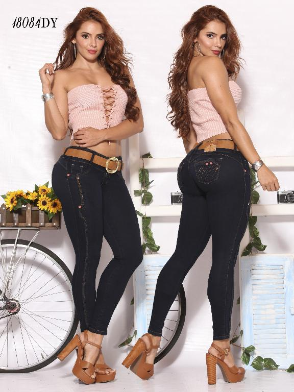 Jeans Levantacola Colombiano Dinasty - Ref. 249 -18084-DY