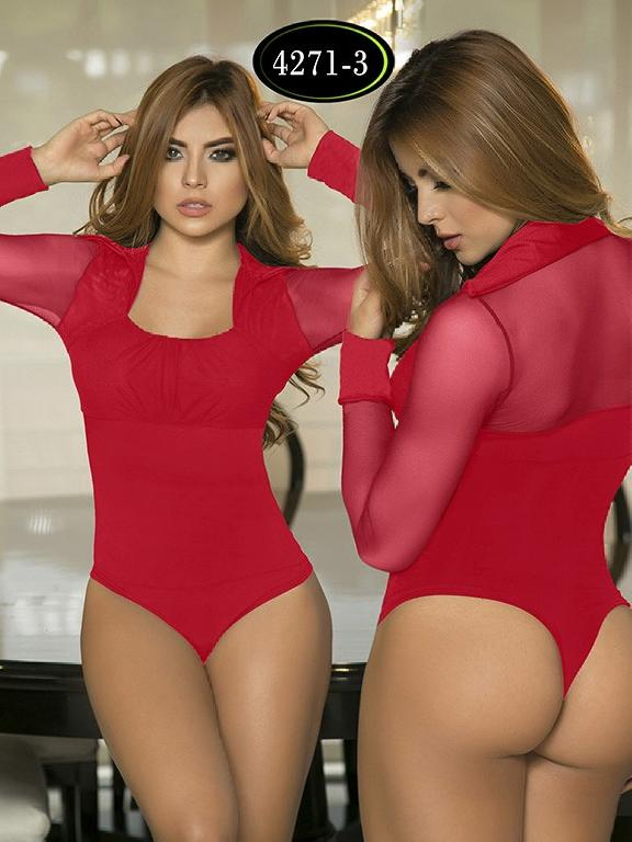 Body Reductor Colombiano Capellini  - Ref. 114 -4271-3 Rojo