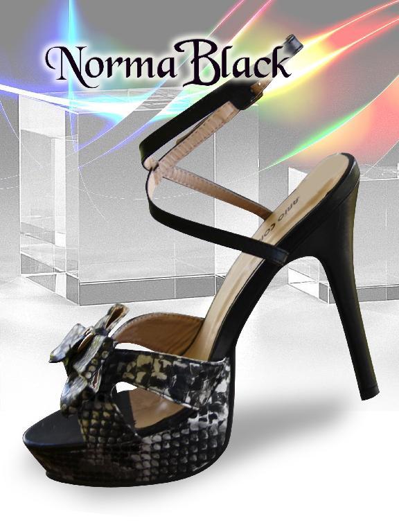 TACON NORMA BLACK - Ref. 184 -NORMA BLACK