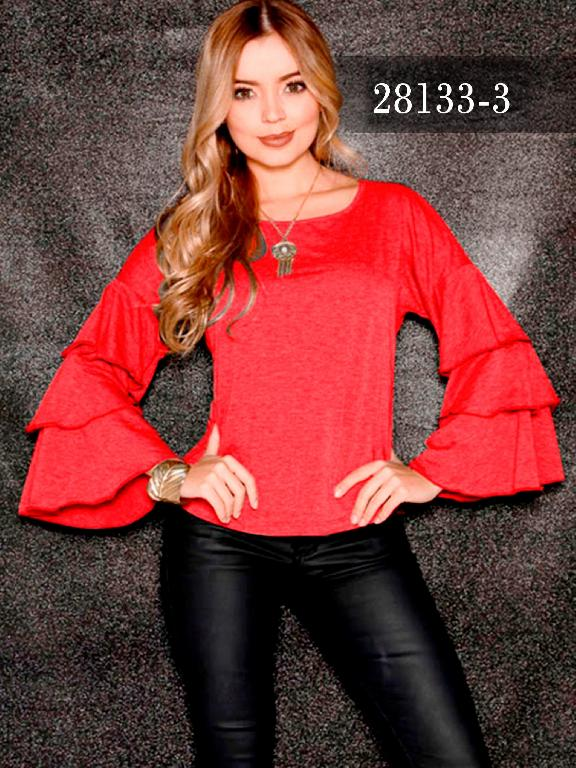 Blusas Colombianas Dinasty - Ref. 266 -28133-3 Rojo
